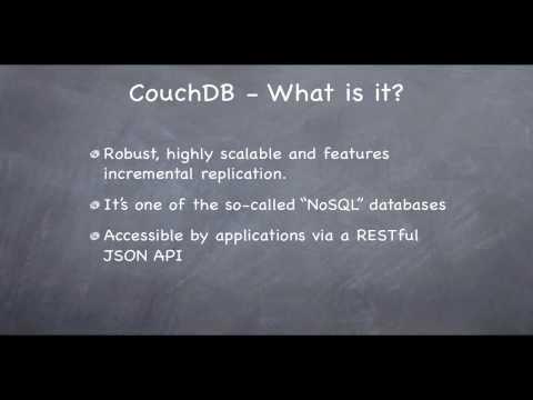 CouchDB In Under 143 Seconds