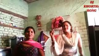 New villages girl hot dance with bhojpuri dj song( by Vivek sharma) 2017