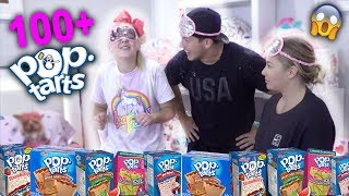 HILARIOUS POP TART CHALLENGE!!! With Shawn and Andrew!