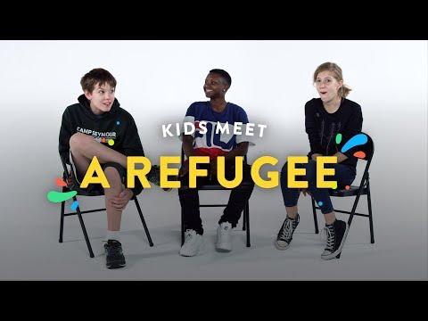 Kids Meet A Refugee Kids Meet HiHo Kids