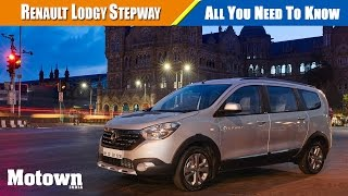 Renault Lodgy Stepway   All You Need To Know   Motown India