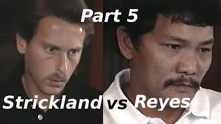 Efren Reyes vs Earl Strickland $100,000 The Color of Money Challenge Match Part 5 of 5