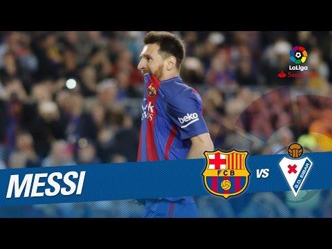 Penalti de Messi parado por Yoel