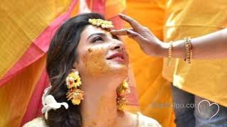শুভশ্রী রাজের গায়ে হলুদের সুন্দর মুহূর্ত গুলি দেখুন| Raj Subhashree Gaaye Holud | Star Golpo