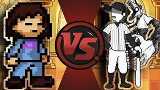 FRISK vs THE BATTER! (Undertale vs OFF) Undertale Animation   AnimationRewind