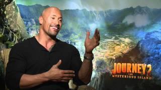 Journey 2: Dwayne 'The Rock' Johnson Sit Down Interview [HD]