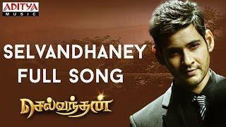 Selvandhaney Full Song || Selvandhan Songs || Mahesh Babu, Shruthi Hasan,Devi Sri Prasad