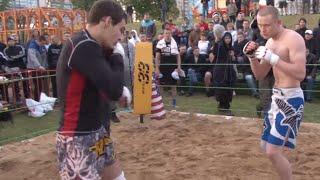 Тайский бокс против ММА бойца !!! Лучший Бой !!!