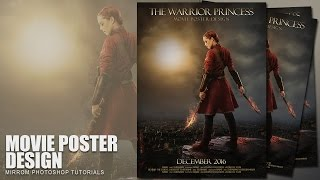 Photoshop Tutorial - Create an Action Movie Poster Design