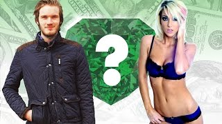 WHO'S RICHER? - PewDiePie or Jenna Marbles? - Net Worth Revealed! (2016)
