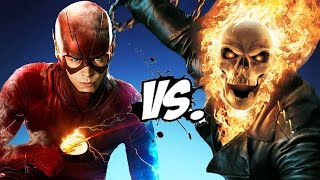 GHOST RIDER VS THE FLASH - EPIC BATTLE
