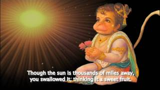 THE HANUMAN CHALISA TUTORIAL - ENGLISH TRANSLATION AND STORY ANIMATION - MUSIC BY KRISHNA DAS