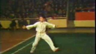 Jet Li en Compétition en 1978