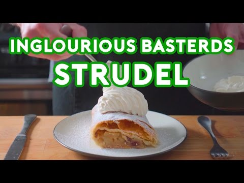 Binging with Babish Strudel from Inglourious Basterds