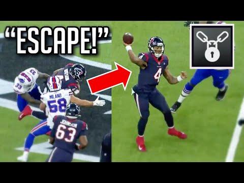 NFL Craziest Escape Artist Moments HD
