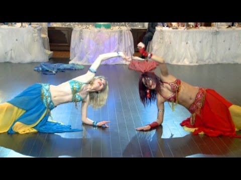 Belly Dance Performance An Indian Wedding Reception @ Bombay Palace Mississauga Ontario