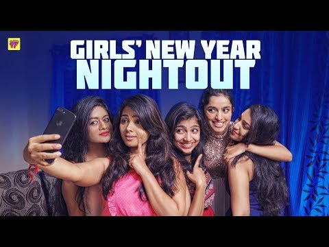 Girls Mandhu Sitting New Year Night Out Girl Formula Chai Bisket