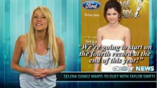 Selena Gomez and Taylor Swift Collaborating!
