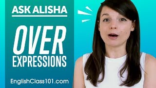 """Expressions with OVER: """"over there"""", """"game over""""... - Basic English Grammar"""