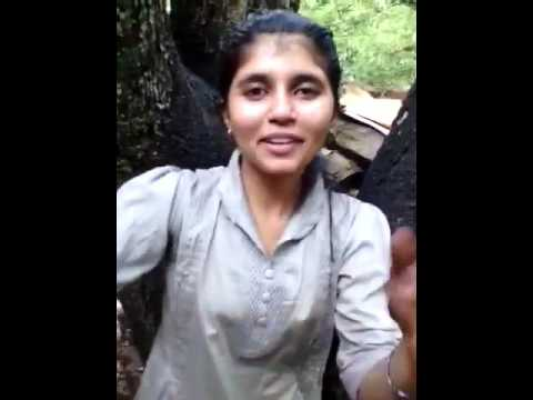 Indian Girl With BF Openly Activities in Jungle