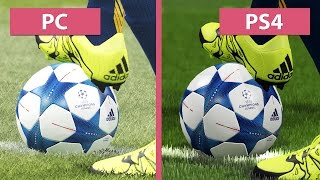 PES   Pro Evolution Soccer 2016 – PC vs. PS4 Graphics Comparison [FullHD][60fps]