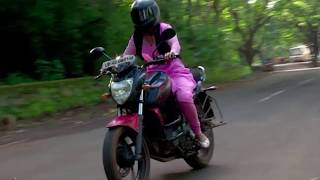 Actress riding bike! Beautiful Indian TV actress riding motorcycle wearing traditional indian salwar
