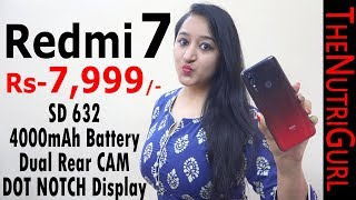 Redmi 7 - Unboxing & Overview In HINDI(Indian Retail Unit)