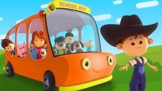 Wheels On The Bus | Little Eddie | Nursery Rhymes For Kids