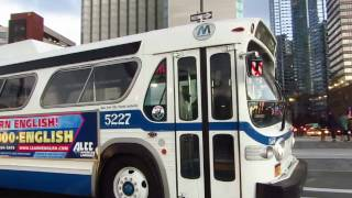 NYC Bus Special: NIS GM New Look 5227 leaving Pier 83
