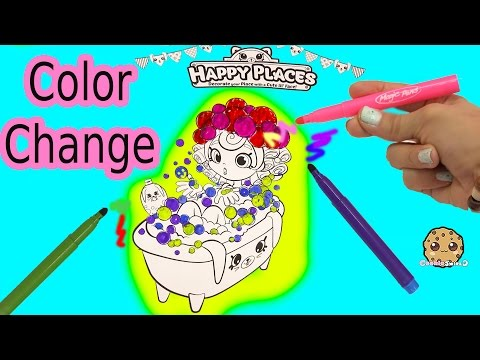 Xxx Mp4 Maker Coloring Shopkins Happy Places Shoppies Doll In Bathtub With Color Changing Magic Pens 3gp Sex