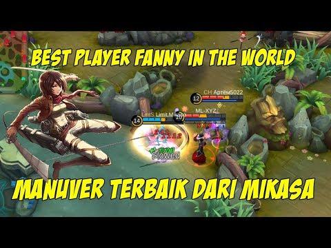 Cuma Mikasa The Best Fanny Yang Bisa Manufer Seperti ini