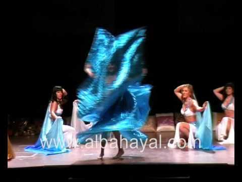 COREOGRAFIA ALBA HAYAL CON SU BALLET ARABE DE CATALUNYA. Danza del Vientre. Mataró.