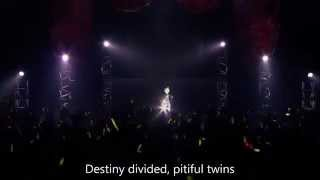 【Live Sub】Daughter and Servant of Evil (Rin and Len Kagamine)