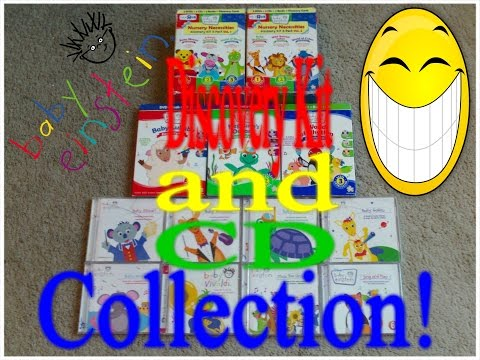 MY BABY EINSTEIN CD & DISCOVERY KIT COLLECTION