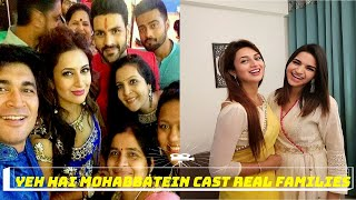 Real families of yeh hai mohabbatein actors and charactors serial on star plus