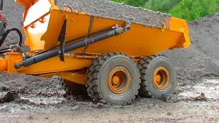 BEST OF RC CONSTRUCTION VEHICLES!  HEAVY R C MACHINES IN ACTION! ! 1 HOUR RC ACTION WITH HEAVY RC