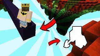 ADAM ALTIMDAKİ BLOĞU KIRDI !!! (Minecraft)