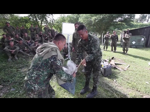 watch U.S and Philippine Marine Corps Trained to Survive in the Jungle