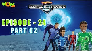 Motu Patlu presents Hot Wheels Battle Force 5 - Mobi 3.0 - Episode 24-P2- in Hindi