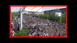 Breaking News | BREAKING: Armenian PM Sargsyan steps down as soldiers start to join protesters