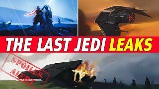 All Confirmed The Last Jedi Plot Leaks   Star Wars Episode 8 SPOILERS!