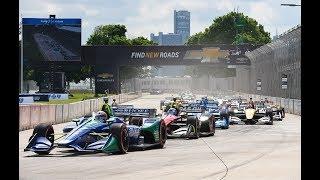 IndyCar Series 2018 Round 7 RACE 2 Detroit Streets of Belle Isle june 3