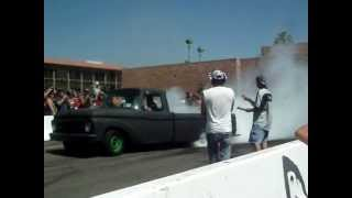 Burnout 65 Ford Pickup F100