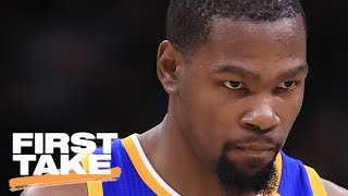 Is Kevin Durant To Blame For Parity Issues In The NBA?   First Take   May 29, 2017