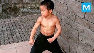 Little Dragon - Baby BRUCE LEE - Ryusei Imai | Muscle Madness