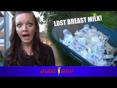 Wife Responds to loosing 152 bags of breast milk | Dude Dad