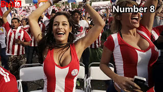 Top 10 Hottest football fans in the world