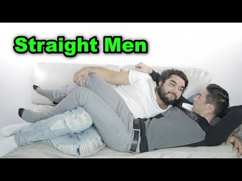 Straight Men Cuddle Men For The First Time