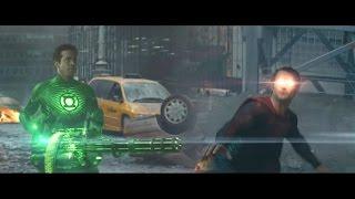 Superman vs Green Lantern