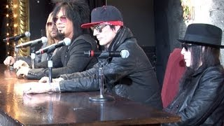Motley Crue Announce Break Up and Final Tour at Exclusive Press Conference